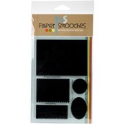 """Paper Smooches Clear Stamps 4""""X6"""" -Mirror Blocks"""