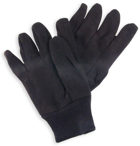 Wells Lamont Jersey Work Gloves - Large Size - Absorbent - Cotton - 2 / Pair - Brown (y7201l_35)