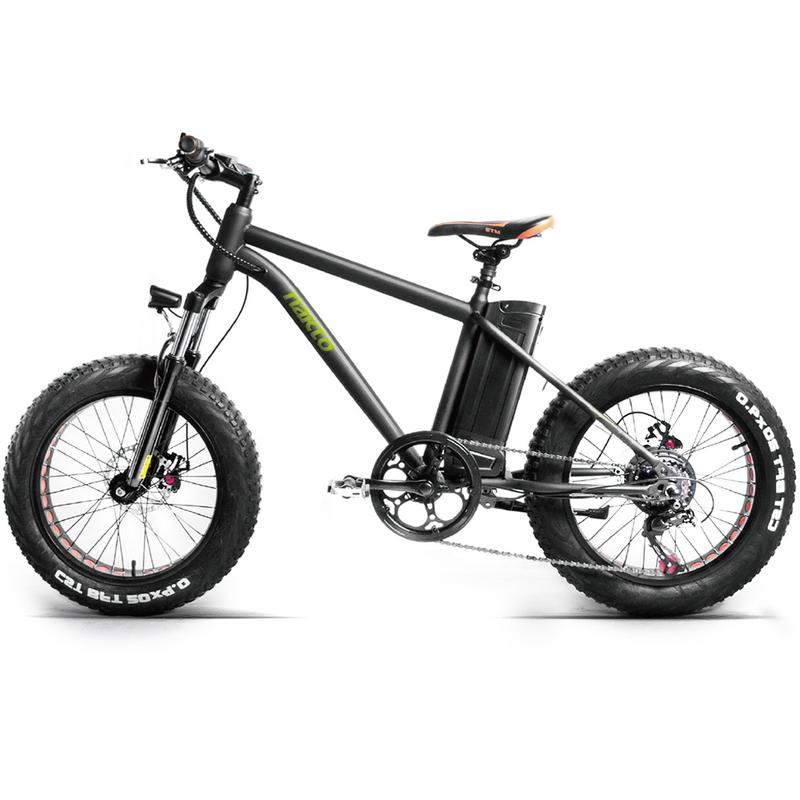 "NAKTO 20/"" Fat Tire Electric Bike 300W Mountain E-Bike 36V 10AH Lithium Battery"