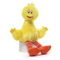 "Gund Baby Sesame Street Big Bird 14"" Plush Teddy Bear #075350"