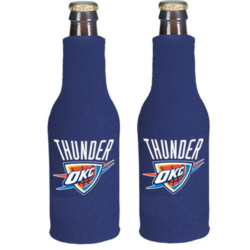 Oklahoma City Thunder Official NBA  Insulated Coozie Bottle Cooler by Kolder