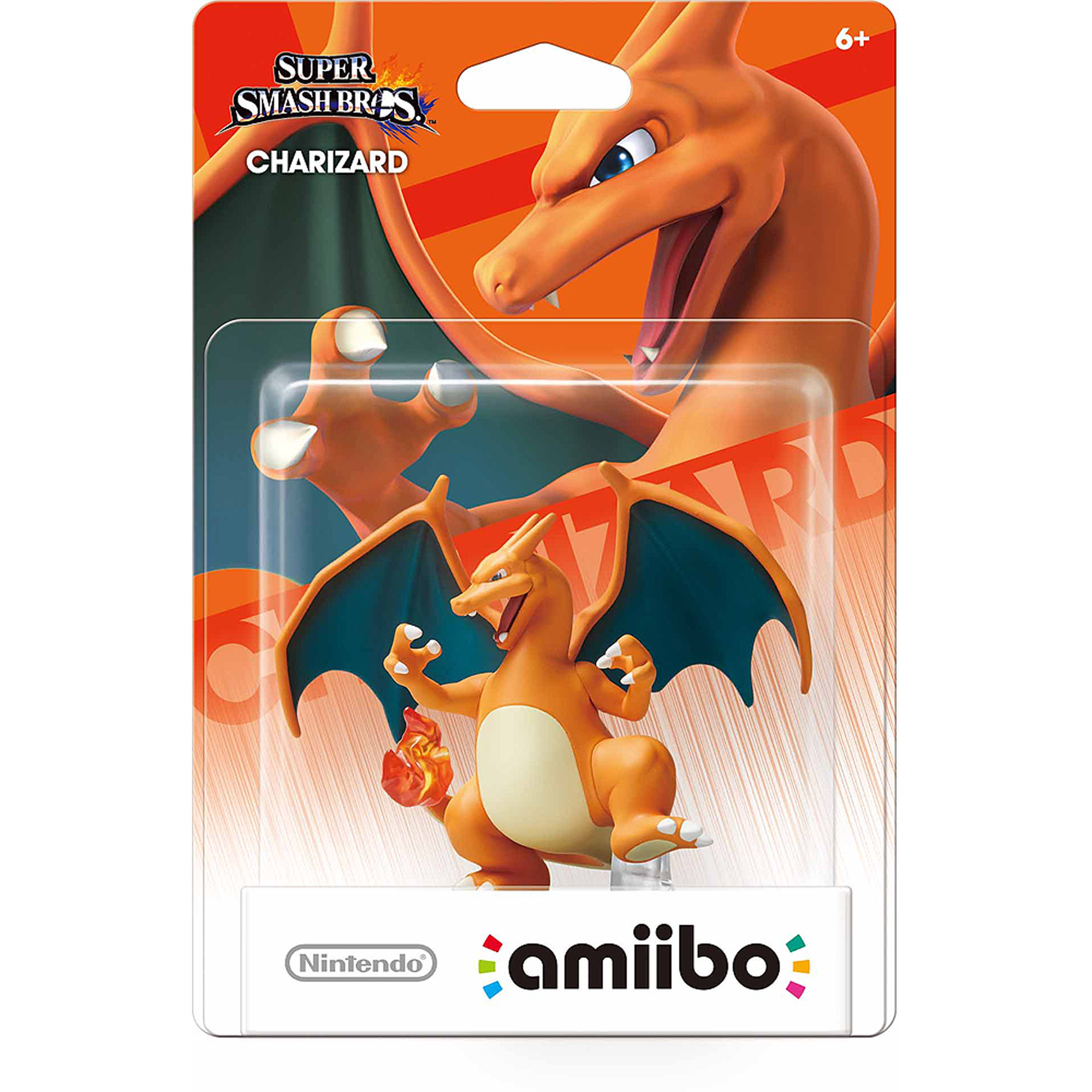 Nintendo Super Smash Bros Amiibo Charizard Mini Figure