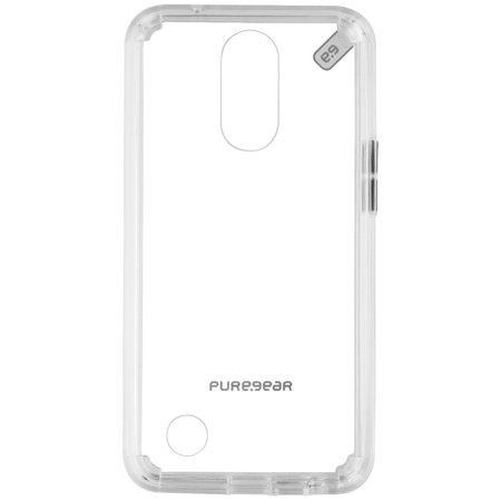 PureGear Slim Shell Pro Series Case for LG K20V / K20 PLUS - Clear (Refurbished)