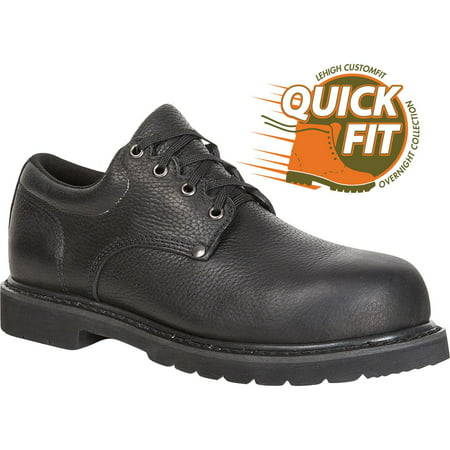 quickfit collection: lehigh safety shoes unisex composite toe work oxford