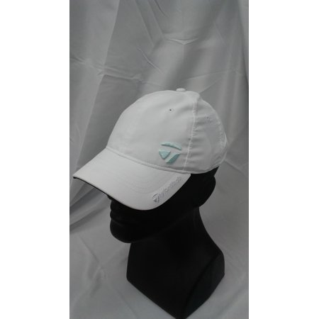 New Women's TaylorMade Golf Juliet Adjustable Cap White 100% Polyester