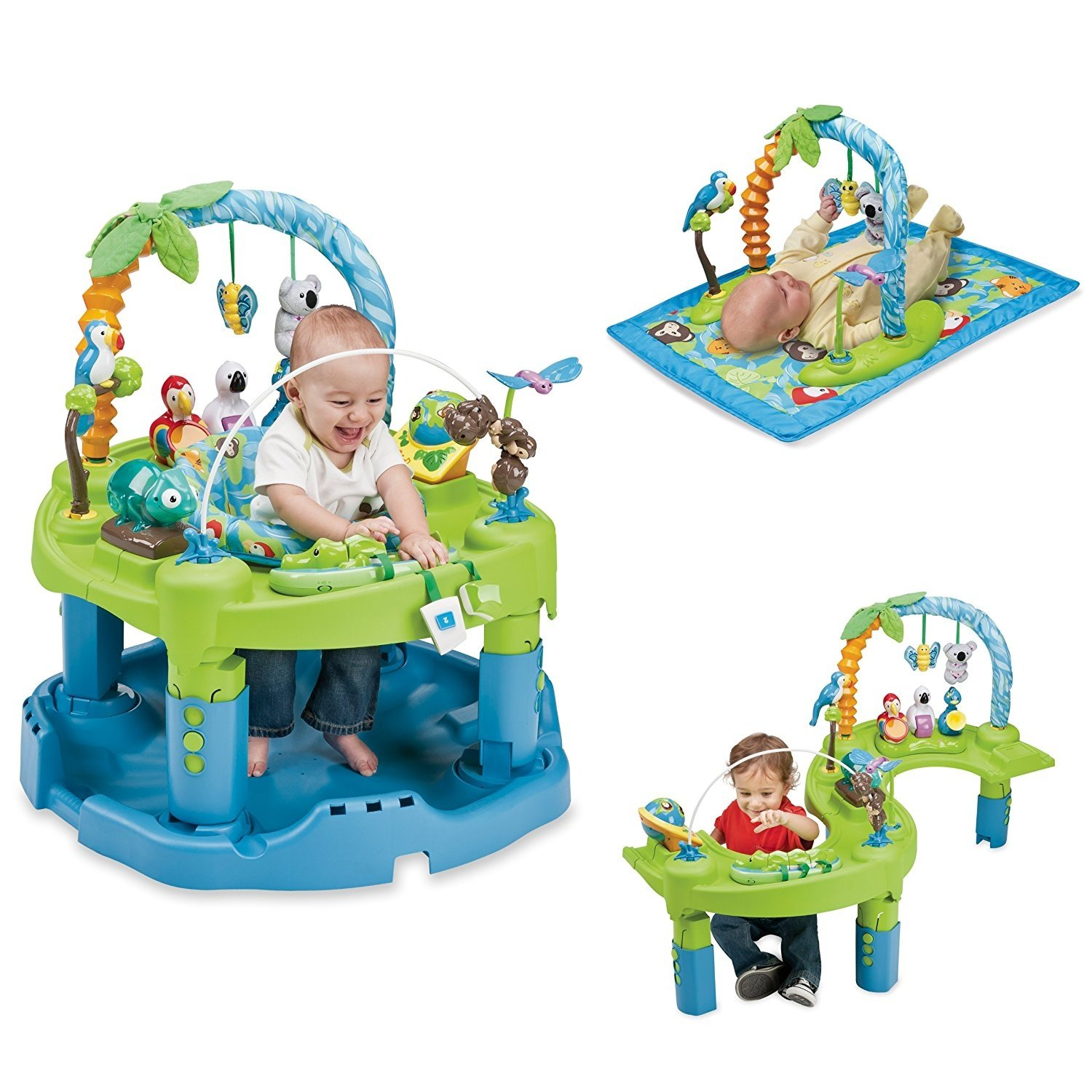 Evenflo Exersaucer Triple Fun Jungle Discontinued By Manufacturer