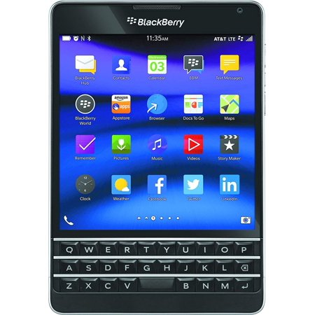 Gsm Blackberry (BlackBerry Passport (SQW100-3) 32GB AT&T GSM Unlocked Smartphone -)