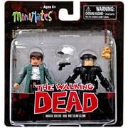 Minimates: The Walking Dead Series 5 Riot Gear Glenn with Maggie Action Figure