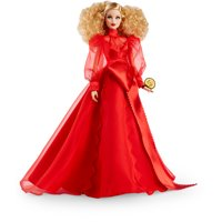 Barbie Collector Mattel 75th Anniversary Doll (12-in Blonde) in Red Gown
