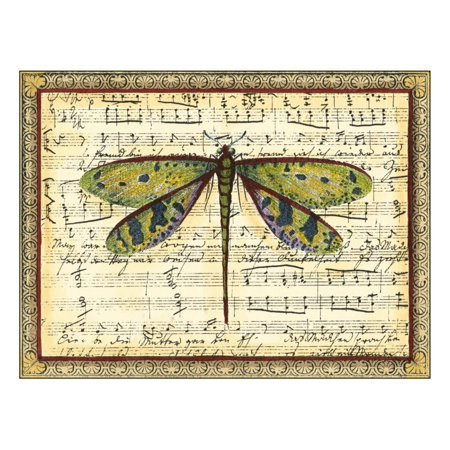 Dragonfly Harmony II Print Wall Art By Vision Studio ()