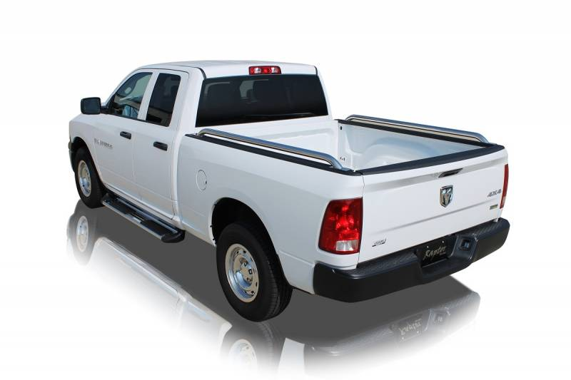 Stainless Steel Styling and Protection Fitted and Compatible with Ford F-150 8ft Bed 2004-2014 Duratrek Bed Rails