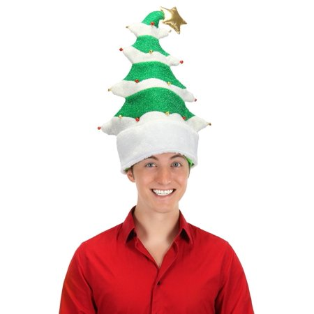 SPRINGY CHRISTMAS TREE HAT funny xmas Christmas teen mens womens adult  costume - Walmart.com 9df1a7d566