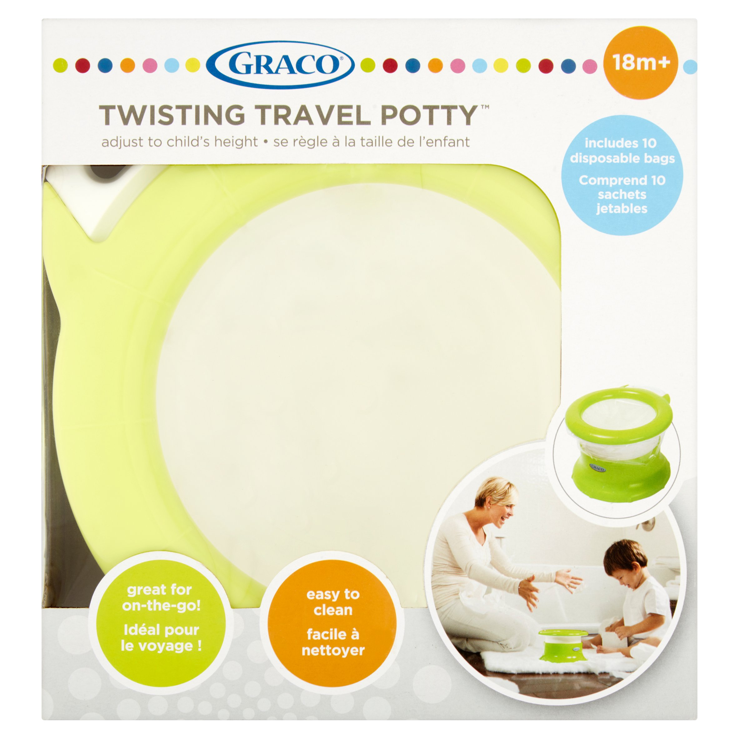 Graco Twisting Travel Potty 18m+