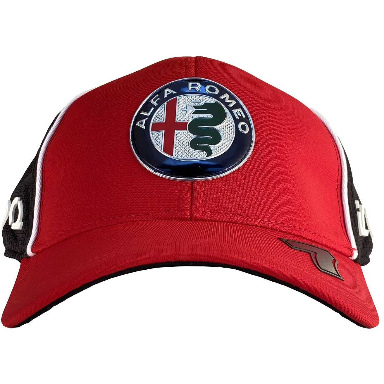 Kids Red Alfa Romeo Racing F1 2020 Team Kimi R/äikk/önen Baseball Hat