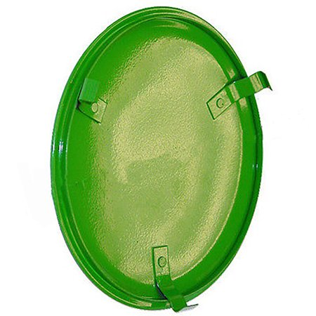 AB3579R New John Deere Flywheel Inspection Cover Plate 50 60 70 520 530 A AO B + Chrome Plated Flywheel Cover