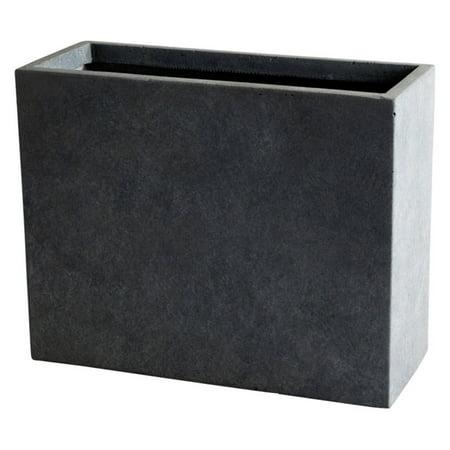 Large Rectangular Planter - Kasa Modern Design Modern Concrete Rectangular Pot Planter