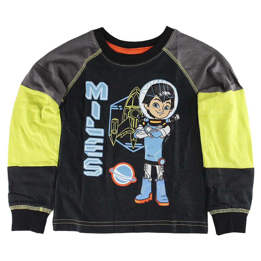 Disney Store Boys Miles from Tomorrowland Blast off! Long Sleeve T-Shirt, Size 3