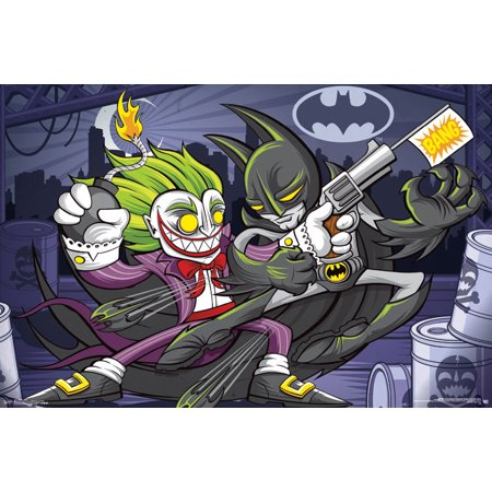 Trends International Batman Bang Wall Poster 22.375