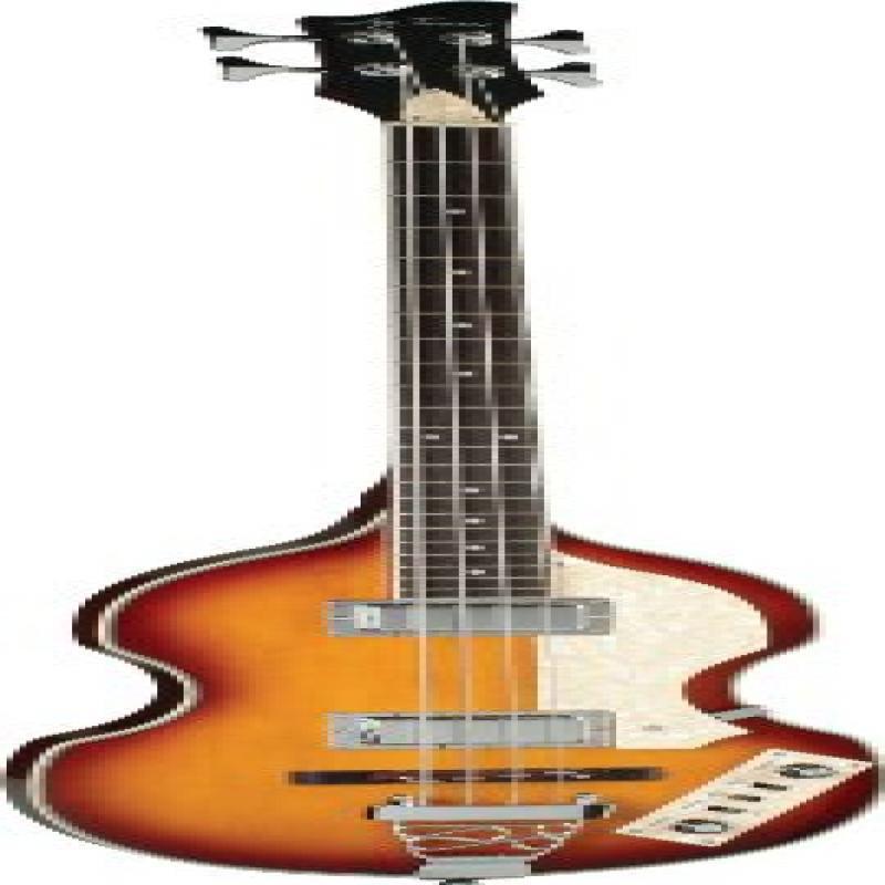 jay turser bass guitars jtb 2b vs 4 string bass guitar vintage sunburst. Black Bedroom Furniture Sets. Home Design Ideas