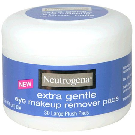 Extra Gentle Eye Makeup Remover Pads, Sensitive Skin 30 Count By Neutrogena - Walmart.com