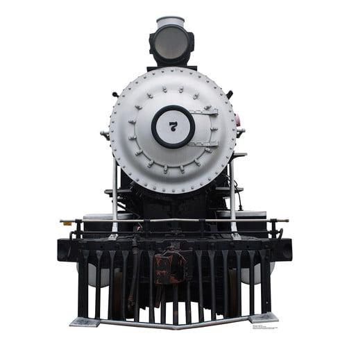"Advanced Graphics Steam Locomotive #7 - 65"" x 49"" - Cardboard Standup"