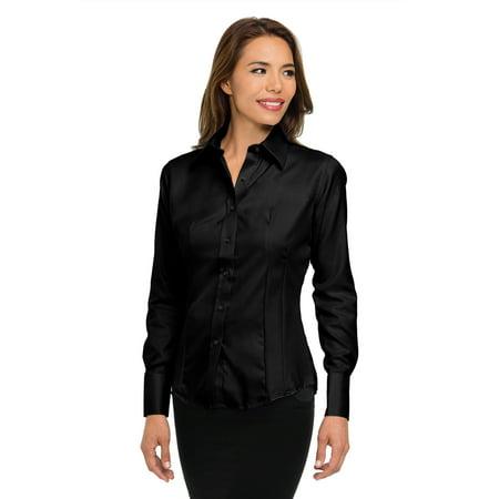 Cotton Non Iron Dress Shirt (Tri-Mountain Gold Brooke 972 Cotton Non-Iron Twill Dress Shirt, 2X-Large,)