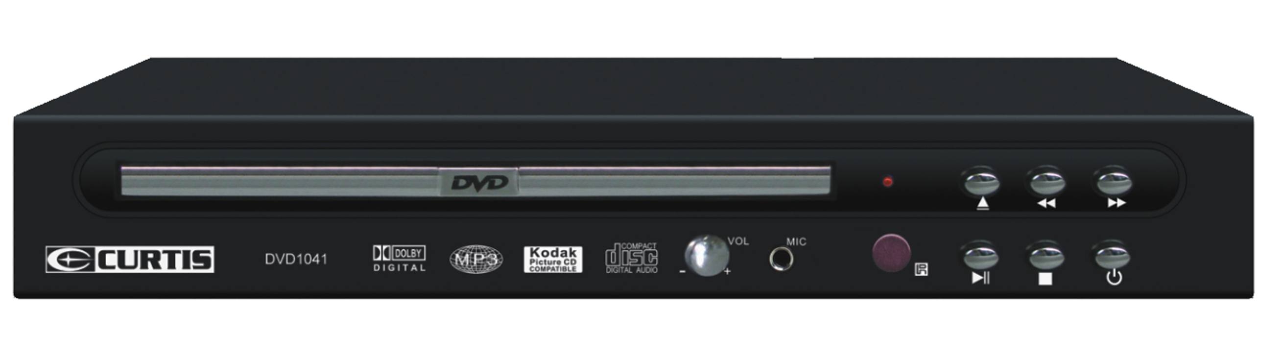 Curtis DVD1041 Compact DVD Player by Sylvania