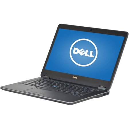 "Refurbished Dell Latitude E7440 14"" Laptop, Windows 10 Pro, Intel Core i5-4200U Processor, 8GB RAM, 128GB Solid State Drive"