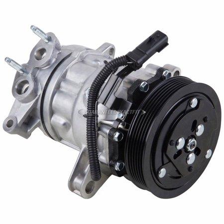 AC Compressor & A/C Clutch For Jeep Liberty V6 2002 2003 2004 2005