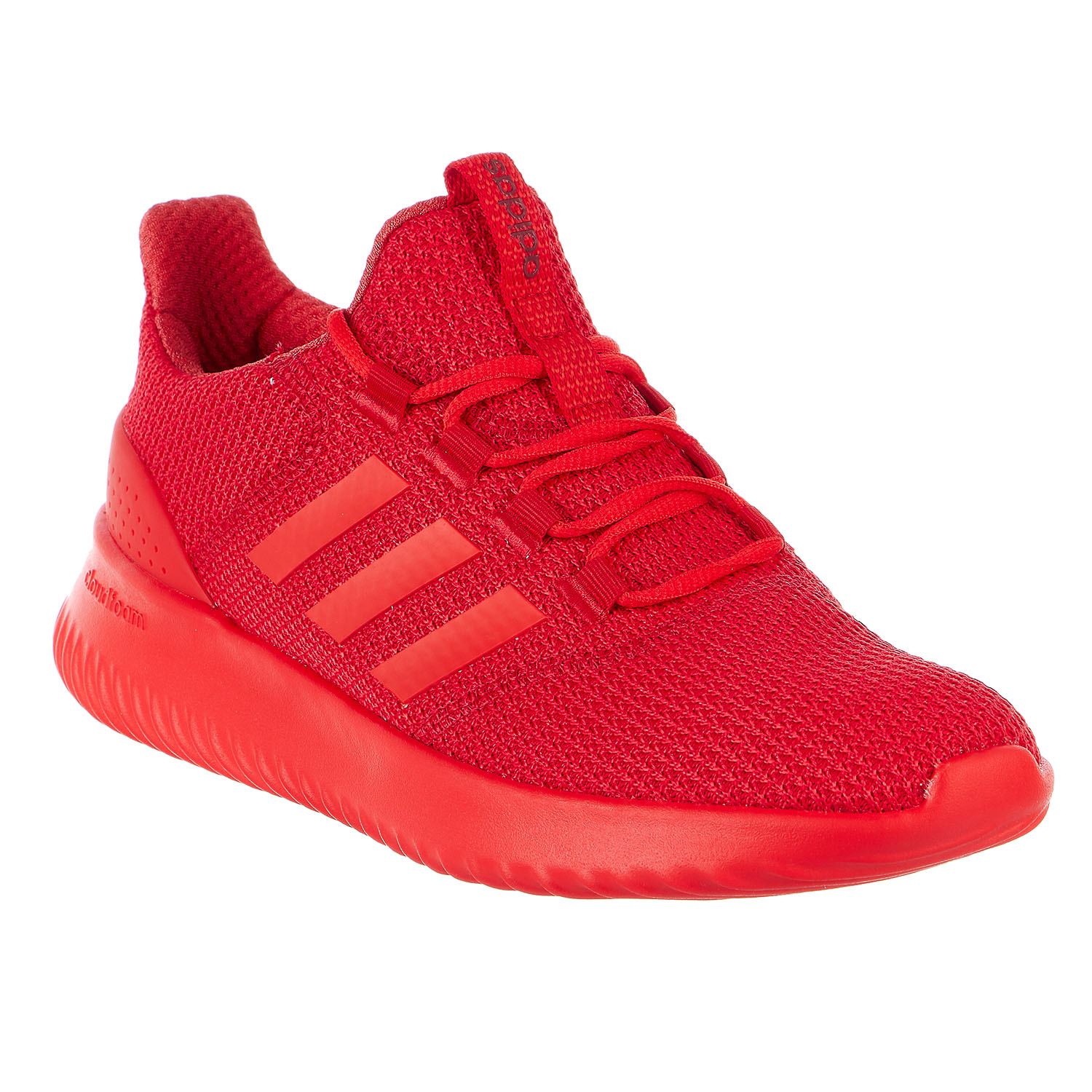 adidas cloudfoam red shoes