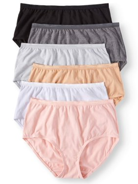e859da3ac3b3 Product Image Secret Treasures Ladies Cotton Stretch Brief Panties - 6 pack