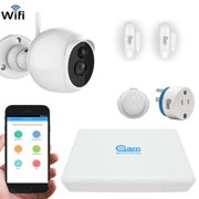 COOLCAM iHomekit with 8CH 1080P NVR and HD PT camera, 1 Outdoor Cameras, 3 Sensors, Power plug, 1TB built-in