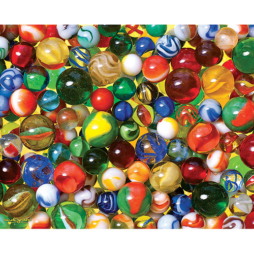 White Mountain Puzzles Marbles Jigsaw Puzzle, 1000-pieces