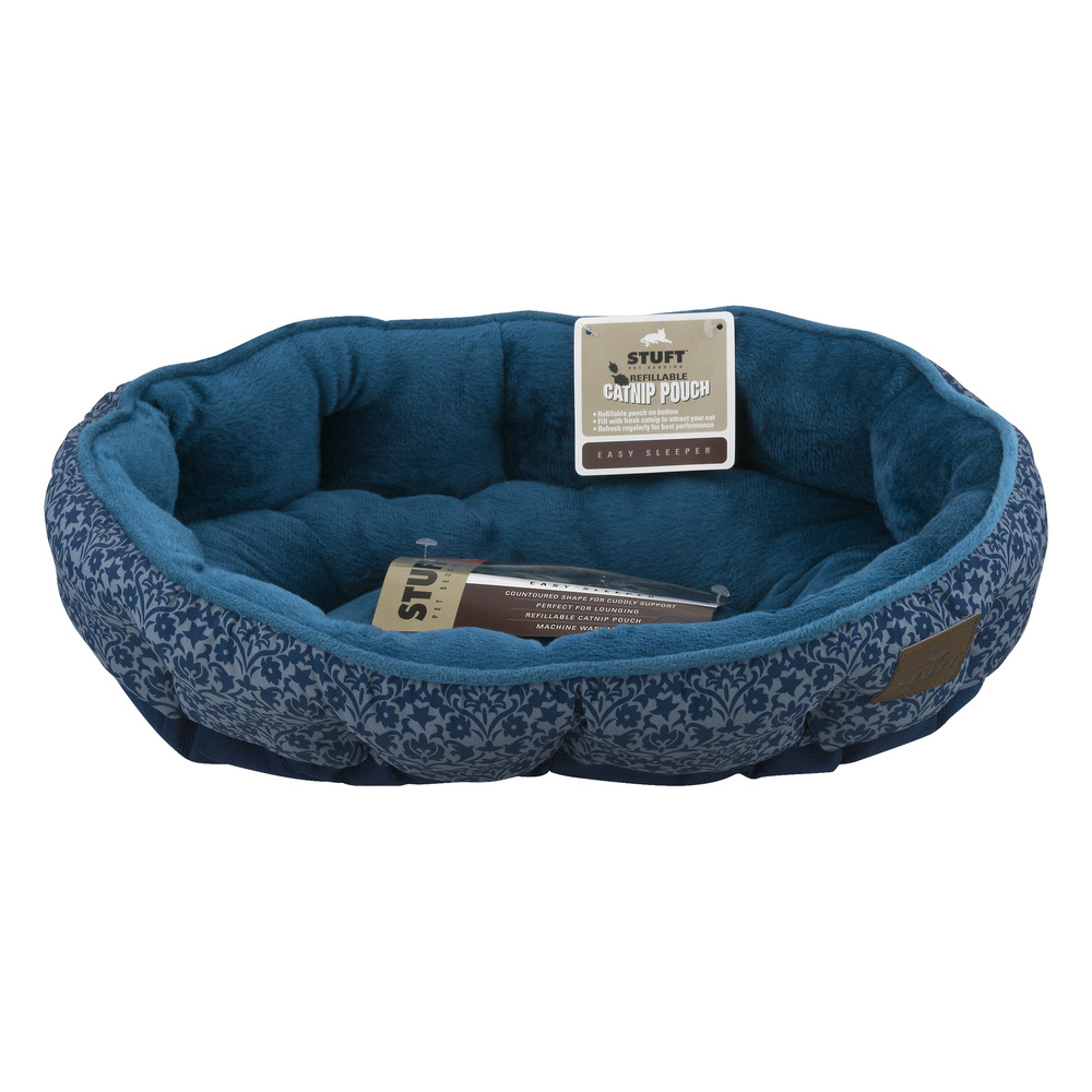 "Stuft Pet Bedding Easy Sleeper Pet Bed, 19"" X 14"", Turqoise"