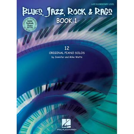Blues, Jazz, Rock & Rags - Book 1 : National Federation of Music Clubs 2014-2016 Selection Late Elementary Level - Jazz Rock Nice Halloween