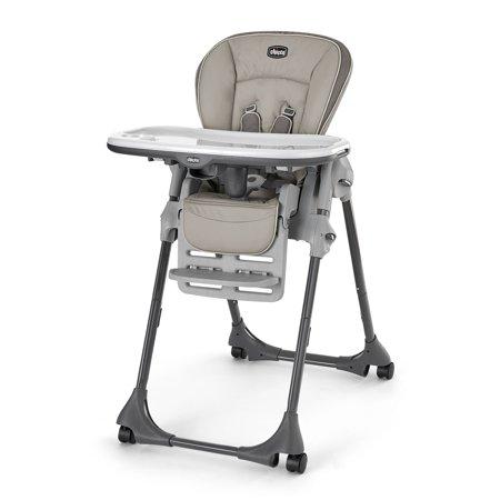 Chicco Polly Folding Reclining Newborn Baby Toddler Feeding High Chair,