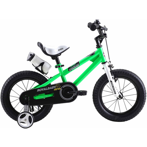Freestyle Green 12 inch Kids Bicycle