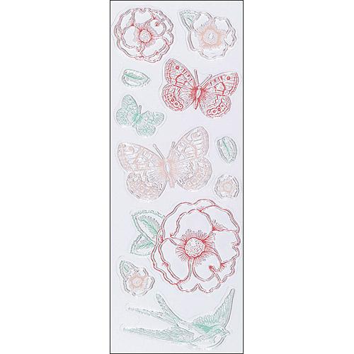 Martha Stewart Clear Stamps-Vintage Garden