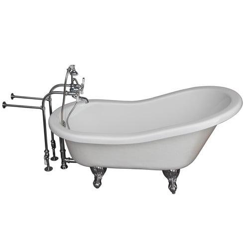 Barclay 60'' x 24.5'' Soaking Bathtub Kit