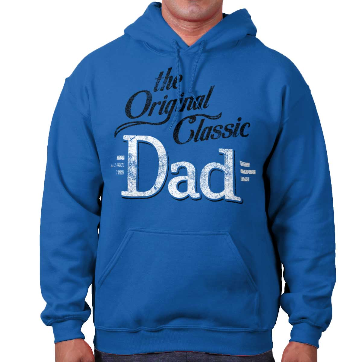 Brisco Brands Original Classic Dad Fathers Day Papa Best Hoodie