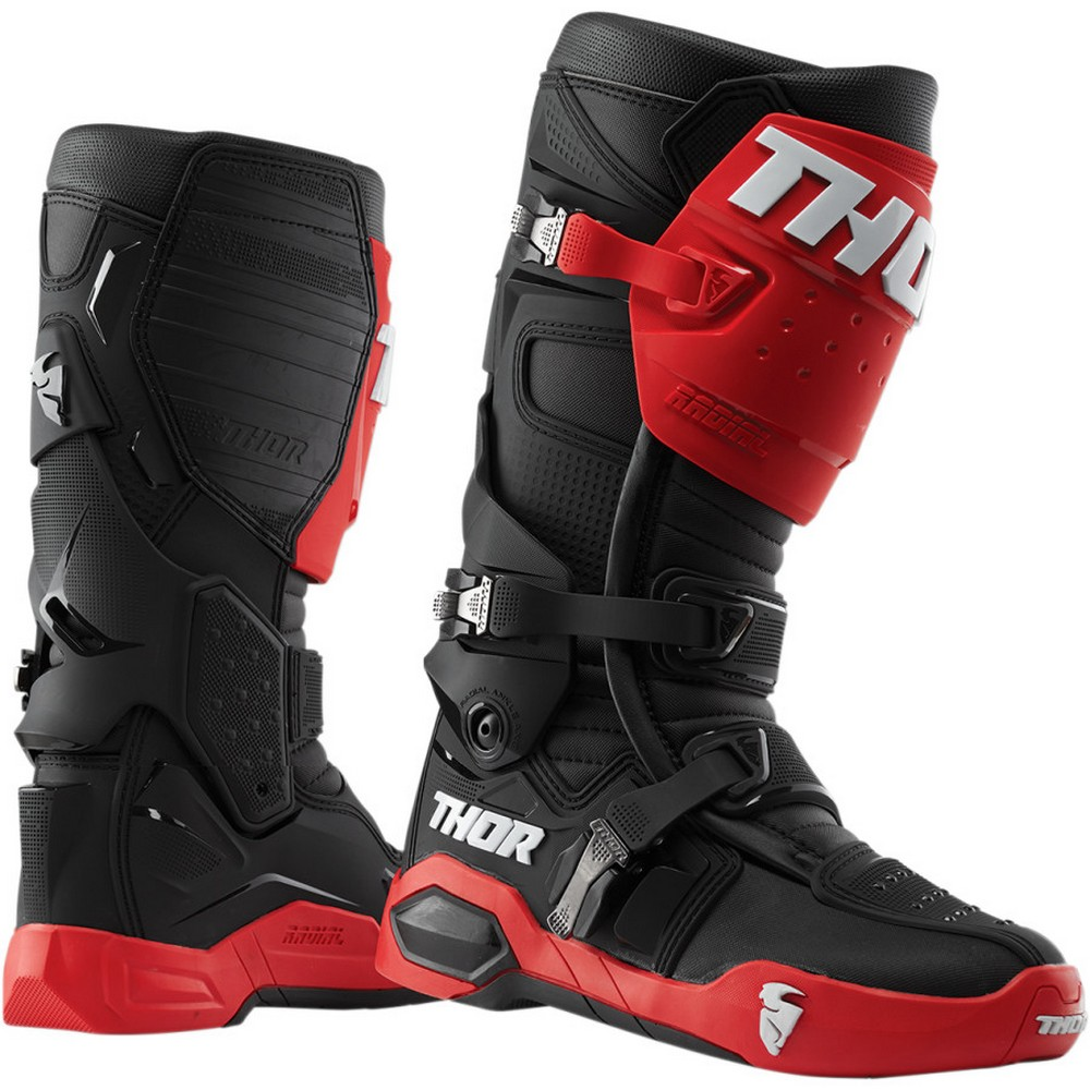 THOR Motocross Genuine Replacement Strap for Blitz Boots Men/'s 7-11 Black