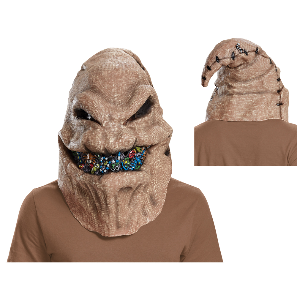 Adult Oogie Boogie Full Face Vinyl Mask Walmart Com Walmart Com Voiced by ken page, oogie boogie is a burlap sack filled with insects, spiders and a snake for a tongue. adult oogie boogie full face vinyl mask walmart com