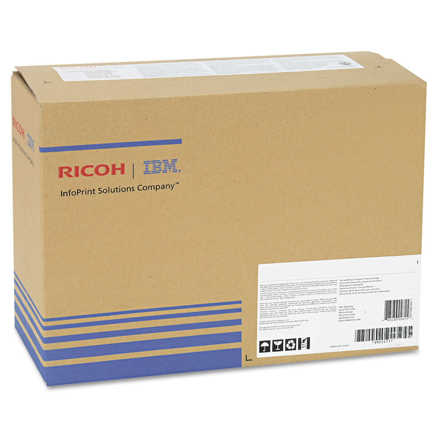 Ricoh 407096 IMaging Drum, 60000 Page-Yield, Tri-Color by Ricoh