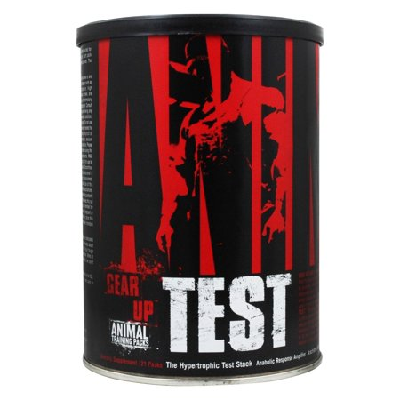 Universal Nutrition Universal Animal Test The Hypertrophic Test Pack, 21 ea