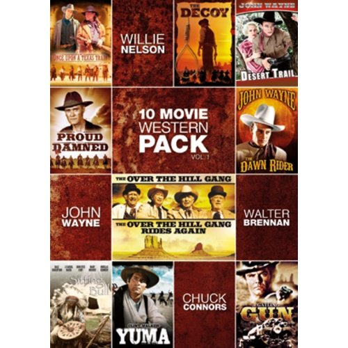 10-Movie Western Pack, Vol. 1