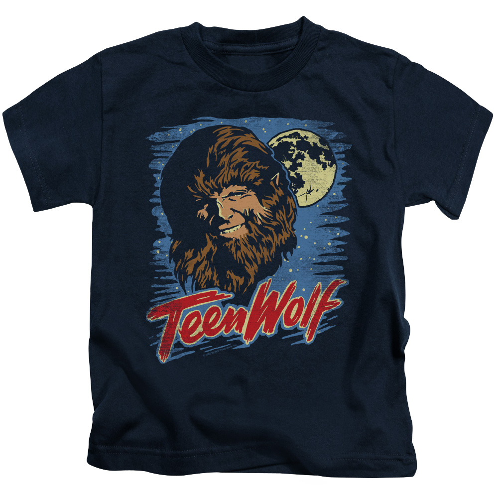 Teen Wolf Moon Wolf Little Boys Shirt
