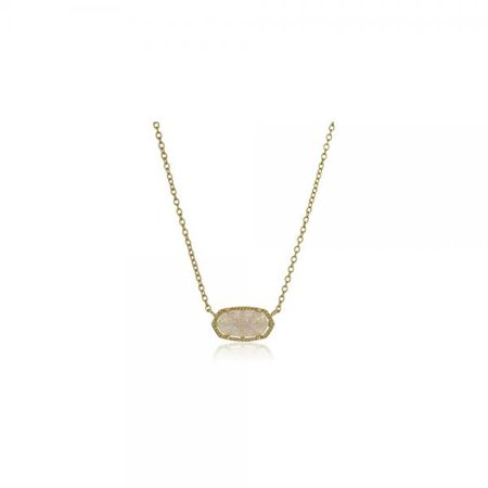 Kendra scott signature elisa gold plated iridescent druzy pendant kendra scott signature elisa gold plated iridescent druzy pendant necklace aloadofball Image collections