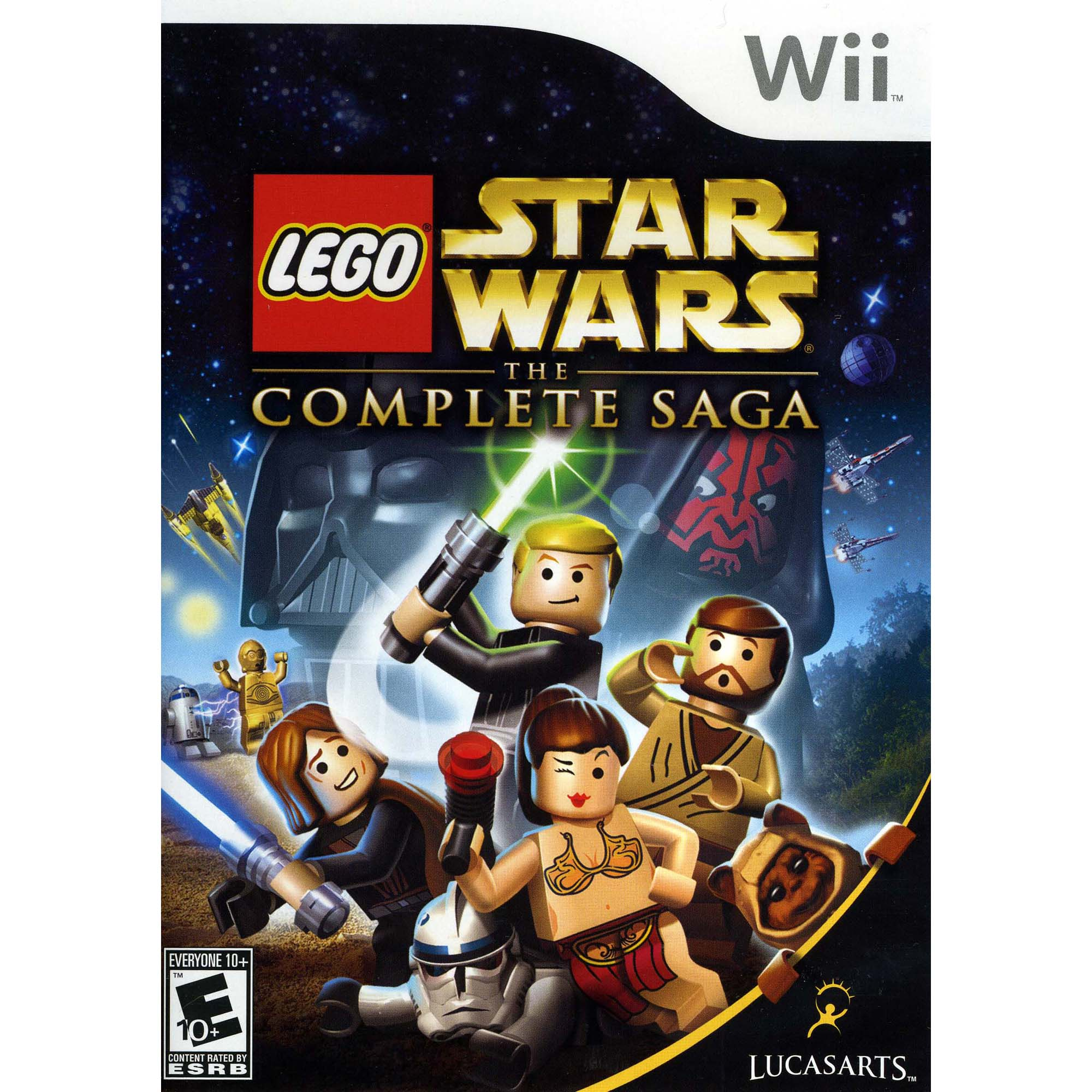 Lego Star Wars: The Complete Saga (Nintendo Wii) by Disney