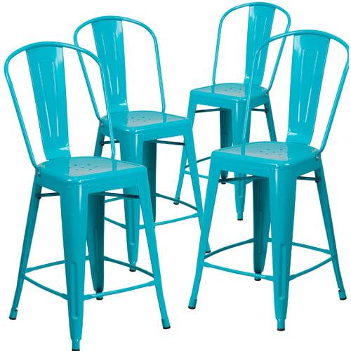 Flash Furniture 24'' Bar Stool (Set of 4)