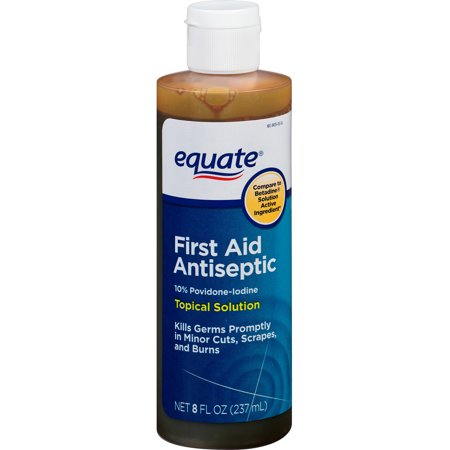 equate: Solution Povidone-iode, 10% topique microbicide Antiseptique, 8 fl oz